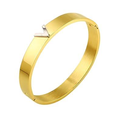 Amazon.com: jovo Amor joyas/18 K oro/18 K oro rosa/plata