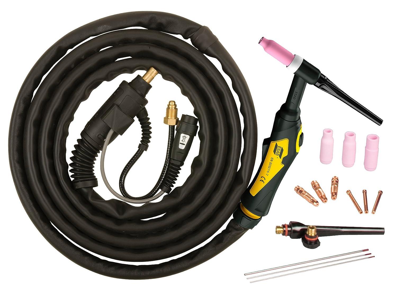 ESAB 0558102493 Model TXH 201 5/8 NPT12 5' TIG Torch Outfit Victor Technologies International