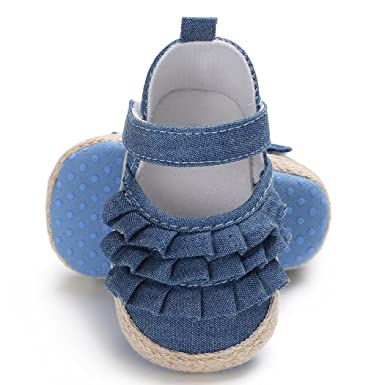 Amazon.com: Zapatillas de bebé recién nacido, zapatillas de ...