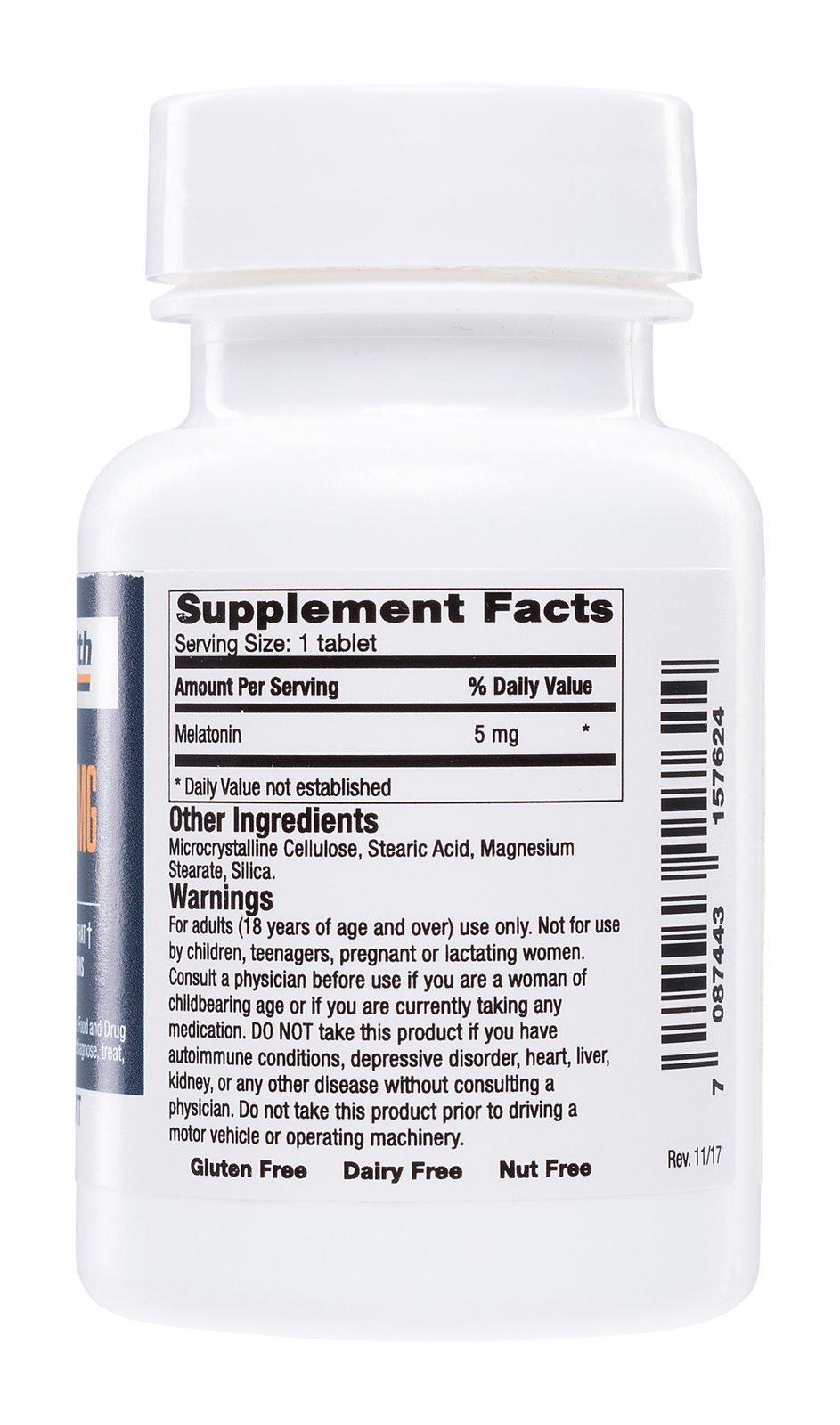 Safe Health Nutritionals Melatonin 5mg Tablet by Safe Health Nutritionals (Image #2)