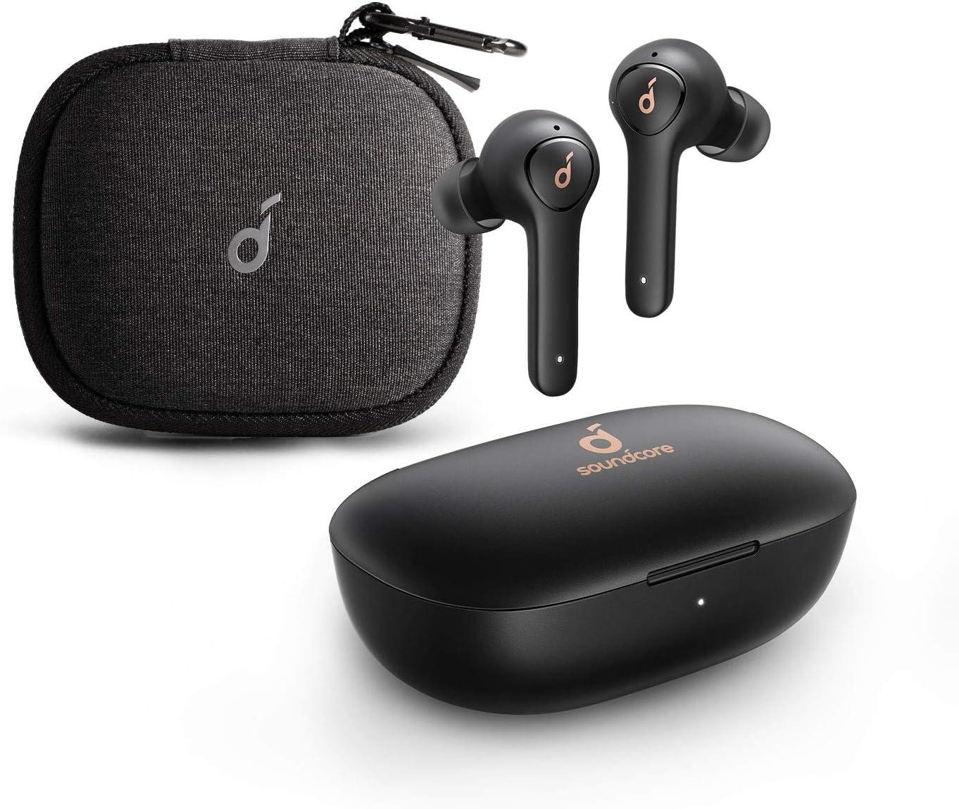 Anker Soundcore Life P2 Bluetooth Headphones with Travel Case