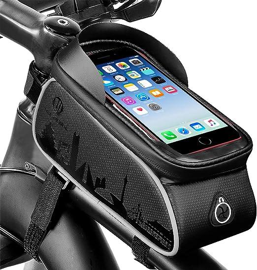SOONHUA Soporte para Teléfono de Bicicleta Bolsa de Bicicleta ...