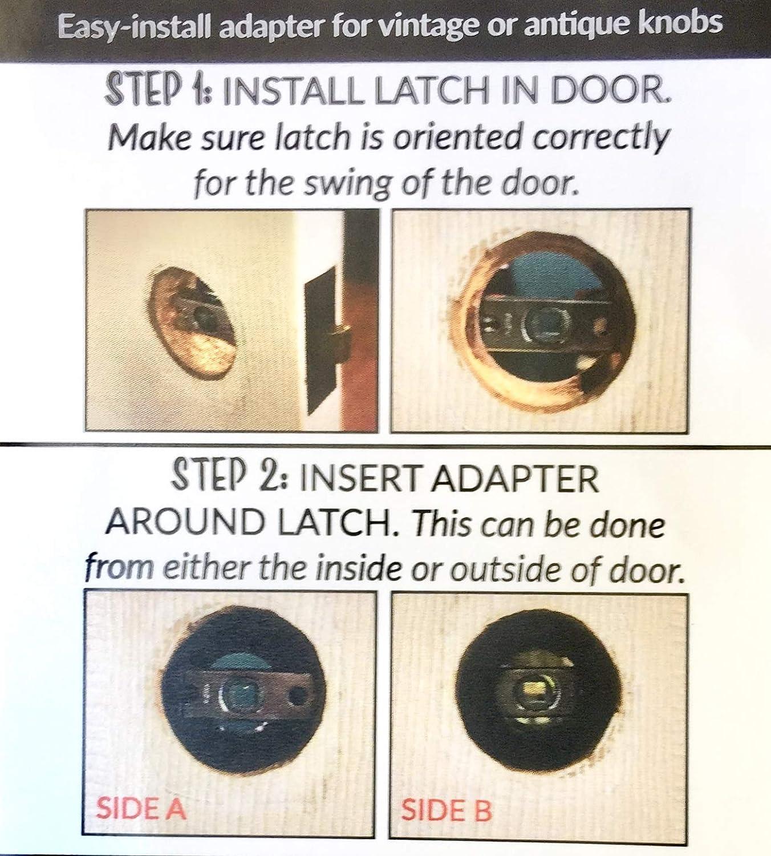 Seven Pcs per Set Rare Antique Victorian Hardware Indoor Shutter Latch Set