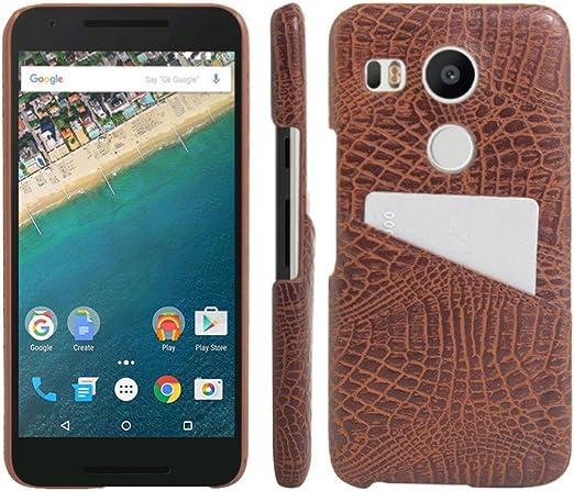 Nexus 5 X Funda, HL hermanos [ranura de tarjeta] carcasa para LG ...