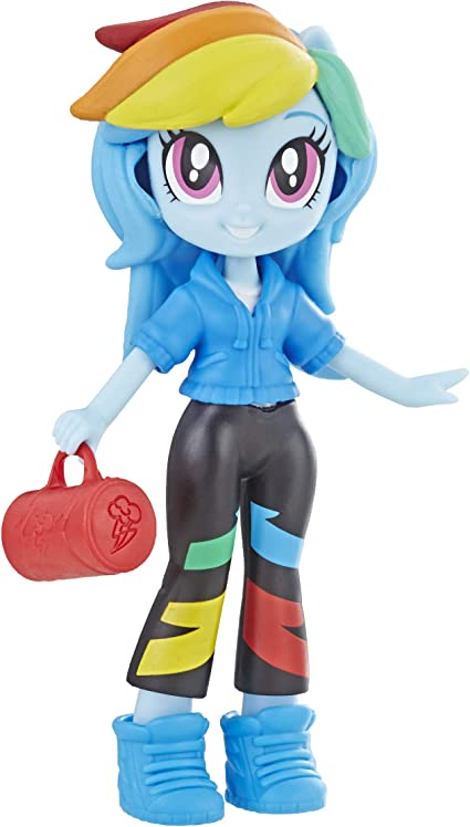 Amazon.com: My Little Pony Equestria Girls Fashion Squad Rainbow Dash 3