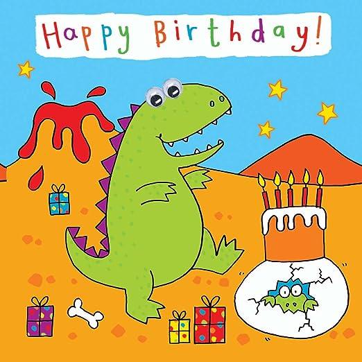 Twizler - Tarjeta de felicitación de cumpleaños para niño ...
