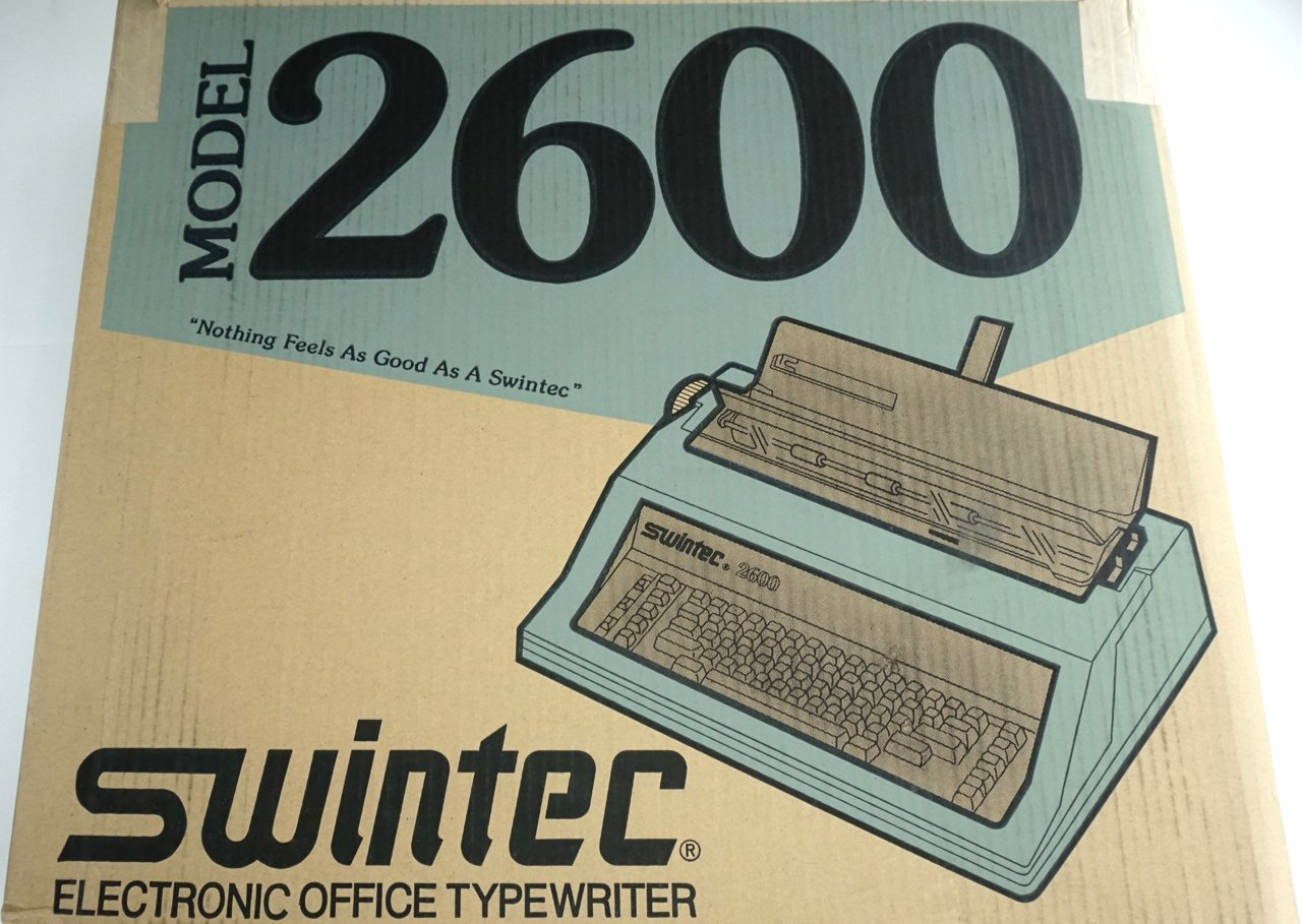 Amazon.com : Brand New Swintec 2600i Electronic Typewriter With Automatic Features : Office Products