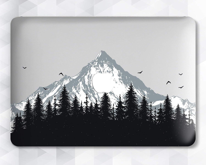Forest Wooden Wood Design Hard Case For Macbook Pro Retina Air 11 12 13 15 2016