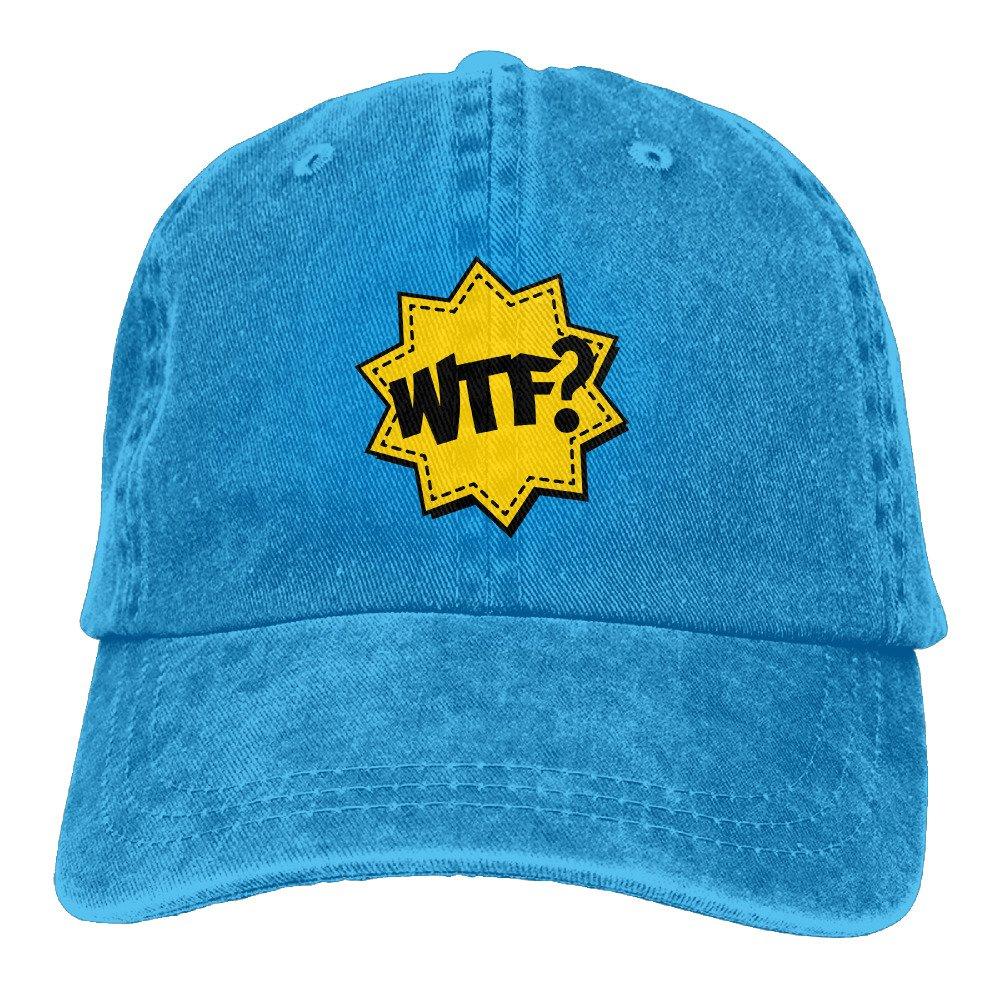 Caramel SID Cool Gym WTF Fun Crazy Outdoor Trucker Hat For Womens Asphalt