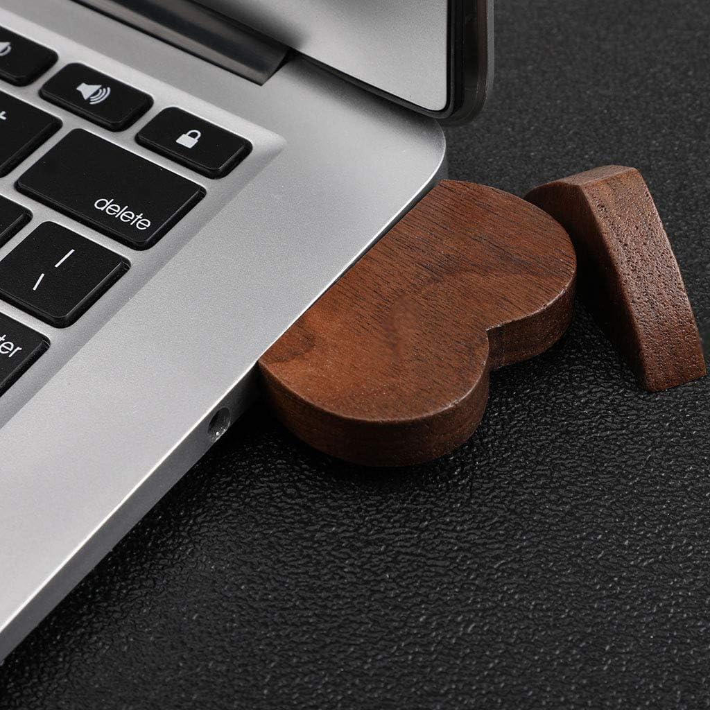 Memory Stick 64GB USB 2.0 Disk 64 GB//32GB//16GB Gifts Wooden Heart RingBuu New USB Flash Drive Pendrive