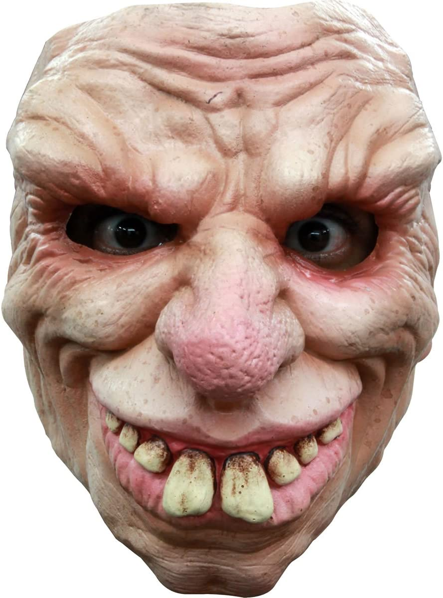 Alter Mann Maske Halloween f/ür Erwachsene Generique