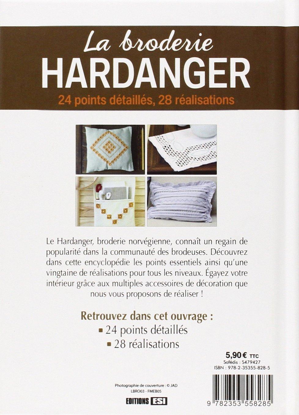 Broderie hardanger la 24 points detailles, 28 réalisation* Passions ...