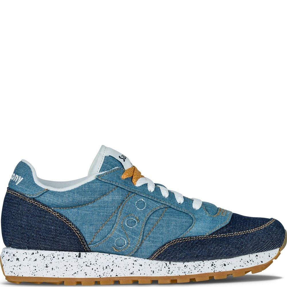 Saucony Women's Jazz Denim Sneaker, Light Blue, US 5. 5 M: Amazon