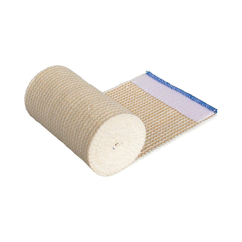 Elastic Bandage, 3in X 5yd, Latex Free, Hook and Loop Closure, Each