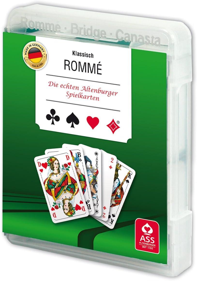 Canaster Romm/é Bridge Spielkartenkassette: Skat
