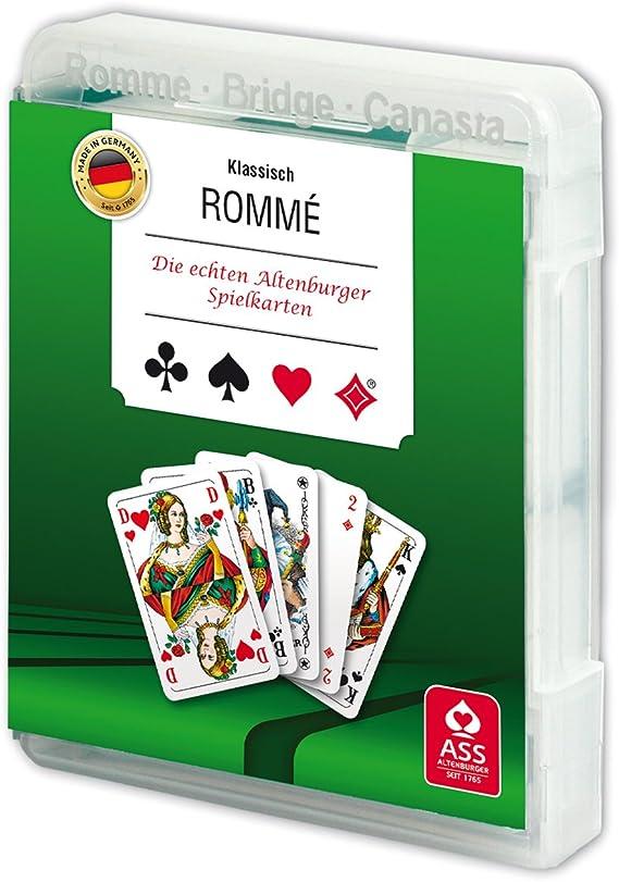 ASS Altenburger 22570080 - Rummy en Caja de plástico: Amazon.es: Juguetes y juegos