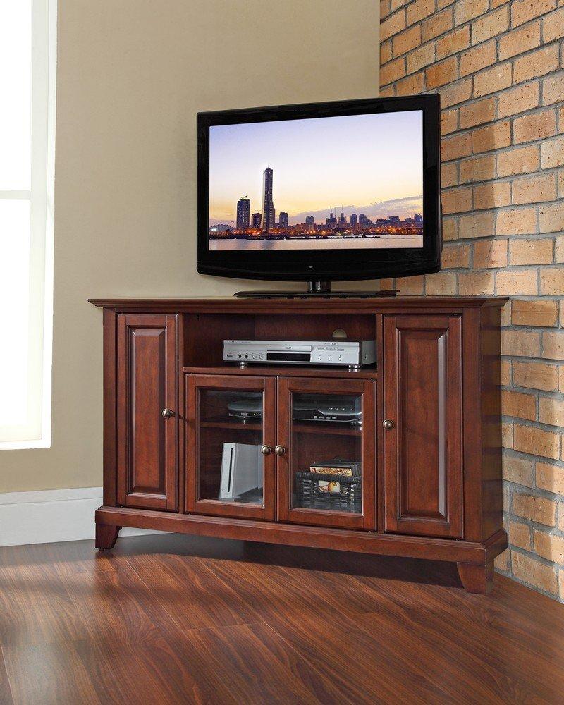 Good Amazon.com: Crosley Furniture Newport 48 Inch Corner TV Stand, Vintage  Mahogany: Kitchen U0026 Dining