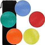 SourceTon Fidgets bola de alivio de estrés, forma redonda, dedos y agarre fortalecimiento de terapia, ideal para…