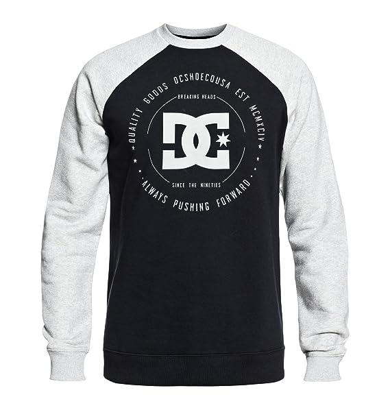 92ee9a4c1e3332 DC Clothing Men s Rebuilt Crew Neck Sweatshirt  DC Shoes  Amazon.co ...