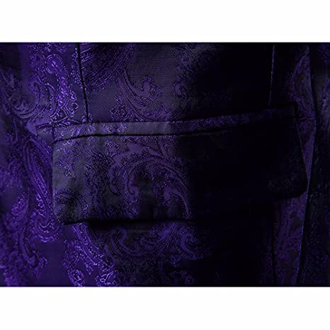 Amazon.com: Mens Dark lines A buckle Suit! Charberry Men Charm Mens Casual One Button Fit Suit Blazer Coat Jacket Tops (US-XL /CN-L2, Purple): Baby