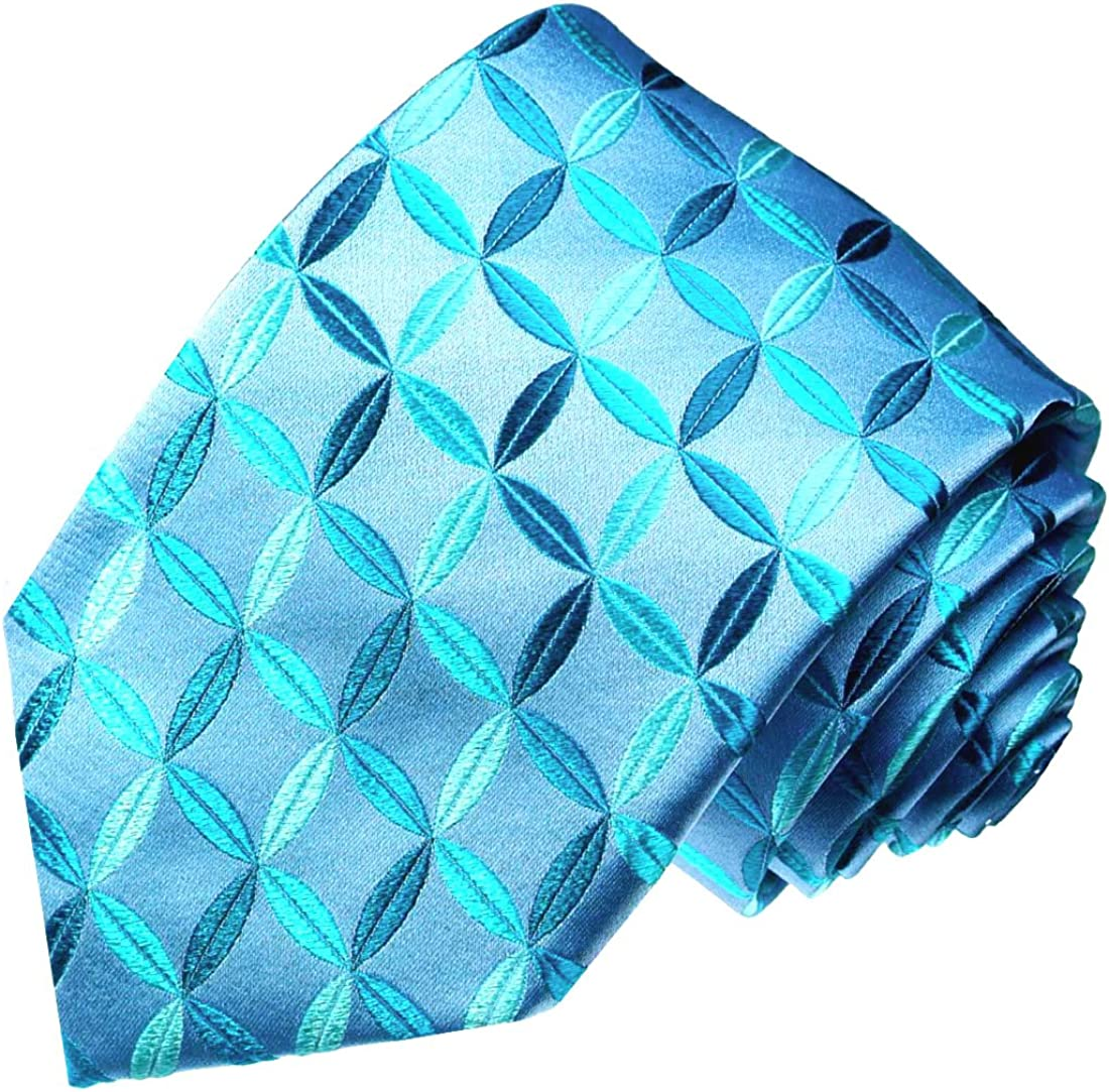 LORENZO CANA para hombre azul Azul Real Bufanda B/ásico