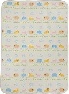 90669ab2e7c373 Amazon   日本製エリクリジャガード綿毛布 フレンズ 1330 BE   毛布 ...