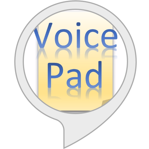 Voice Pad  Dictation
