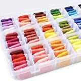 Embroidery Floss Bracelet - Thread Storage Organizer Kit - 96 Different DMC Color Variety - Friendship Bracelets, String Embr