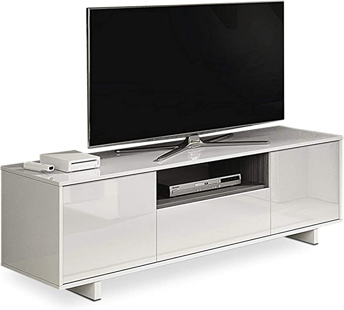 Habitdesign 0G6631BO - Mueble de Comedor TV Moderno, Color Blanco ...