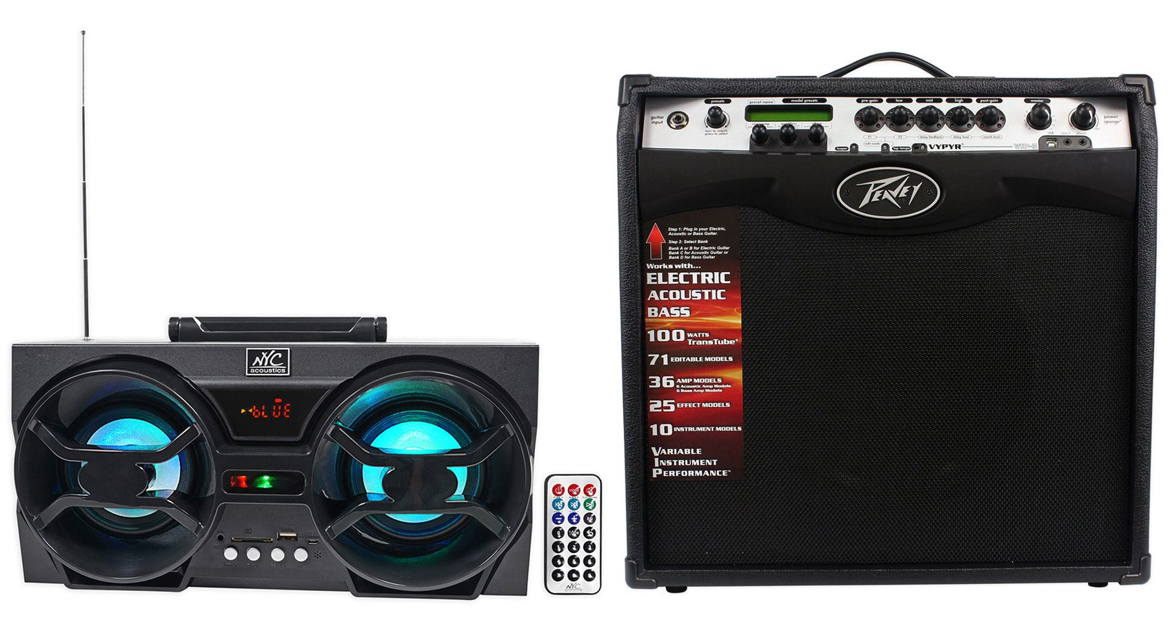 peavey vypyr vip 3 100 watt 12 combo guitar amplifier free bluetooth speaker guitar affinity. Black Bedroom Furniture Sets. Home Design Ideas