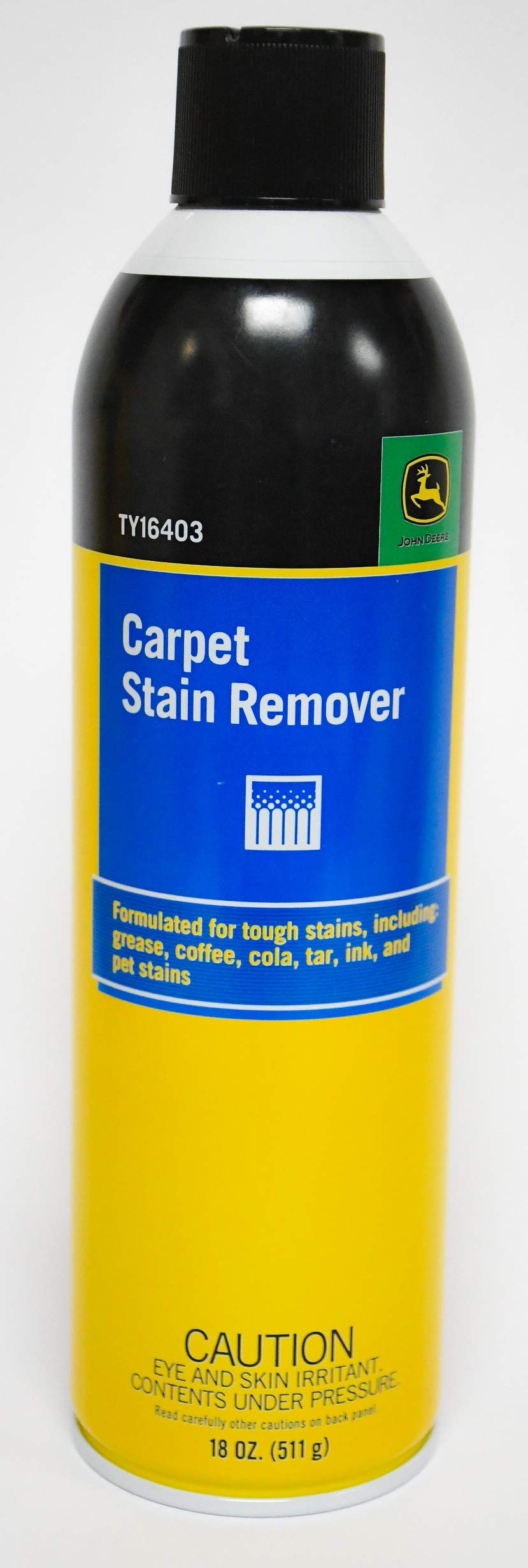 Carpet Stain Remover Cleaner 18 oz Can Made for John Deere