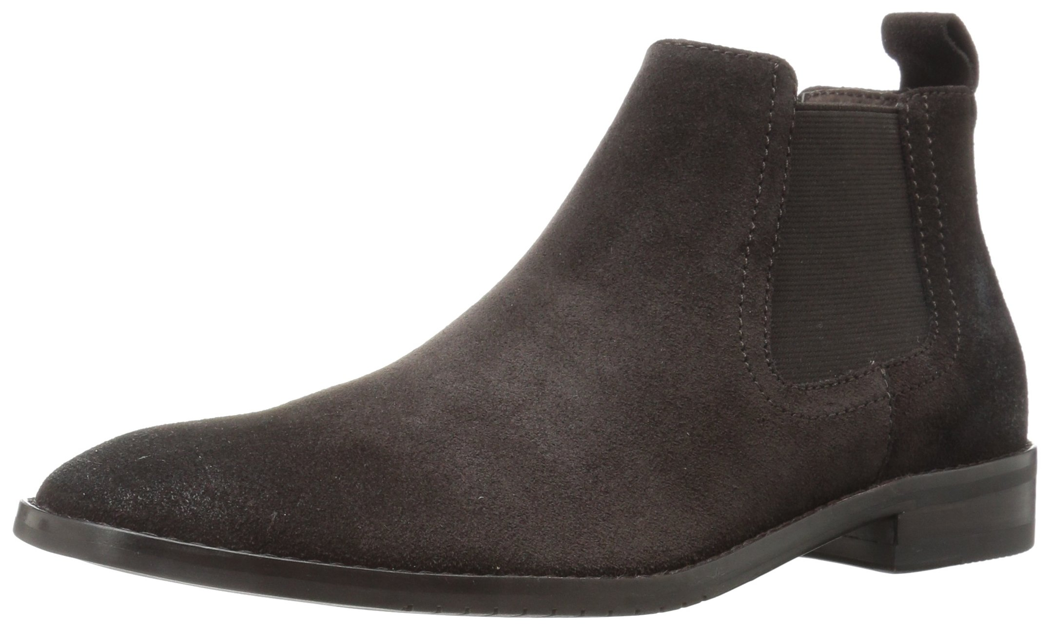 206 Collective Men's Capitol Ankle Chelsea Boot, Chocolate Brown Burnish, 7 D US