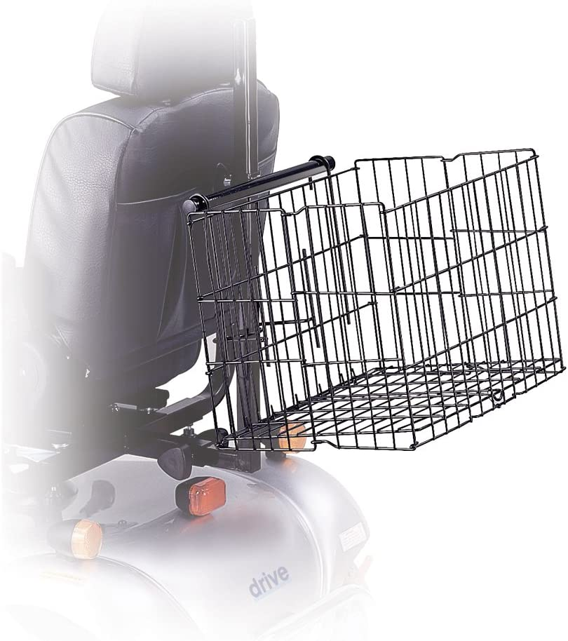 "Drive Medical Scooter Basket, 15. 5"" x 16. 9 x 24. 8"""