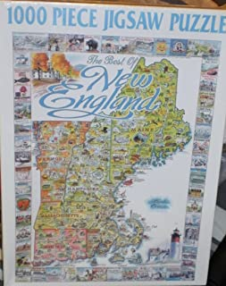 product image for Best of New England 1000 Piece Jigsaw Puzzle