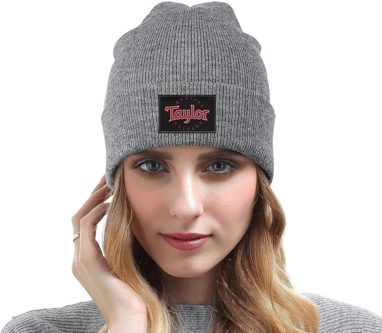 Heart Wolf Unisex Fine Knit Caps Taylor-Guitars-Logo Winter Warm for Mens Womens Beanie Hats
