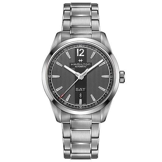 Hamilton - Reloj Hombre HAMILTON Broadway Day Date Auto h43515135 pulsera acero - h43515135: Amazon.es: Relojes