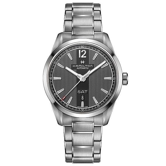 Hamilton – Reloj Hombre HAMILTON Broadway Day Date Auto h43515135 pulsera acero – h43515135