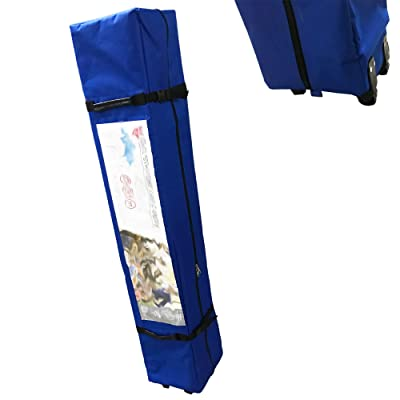 """Carry Bag Wheeled 58"""" for Quest 12' x 12' STRAIGHT LEG Instant Up Canopy Tent Gazebo Parts (Blue): Garden & Outdoor"""