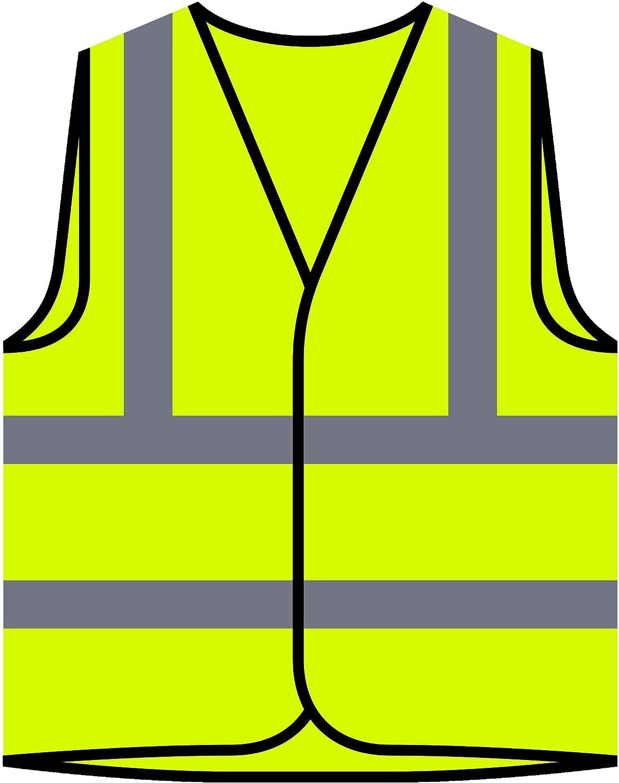 Race De Chien Beagle Veste de Protection Jaune personnalis/ée /à Haute visibilit/é s788v