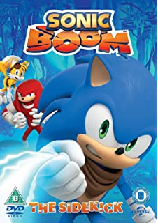 sonic boom the sidekick dvd 2015 - Sonic Christmas Blast
