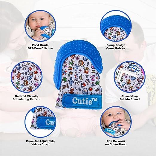 Amazon.com: Guante de dentición para bebé Cutie – Guante de ...