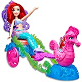DISNEY Princess - Ariel The Little Mermaid - Under The Sea Carriage Playset & Doll - Kids Toys - Ages 3+