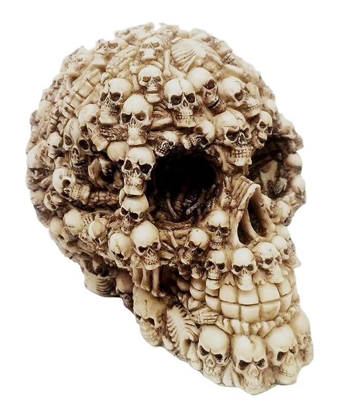 Ebros Ossuary Ghost Whisper Lost Souls Skull Statue Skeleton Graveyard Of Craniums Figurine Sculpture 5.5