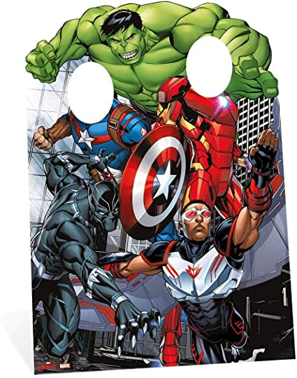 Marvels Avengers Age of Ultron Cardboard Cutout Package Props Comic Super Hero