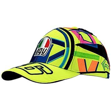 Valentino Rossi VR46 Moto GP Helmet Baseball Gorra Oficial 2018 ... 3e6fccdf9e9