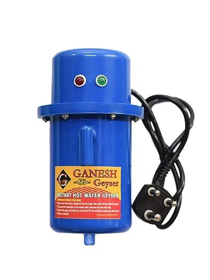 GANESH POLYMERS Plastic Portable Geyser (Blue)