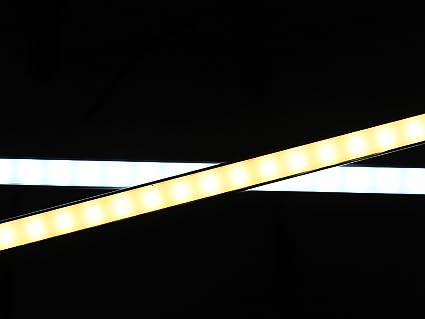 LEDPLAY Dimmbar Alu LED Lichtleiste Kit mit Magnet Unterbaubeleuchte ...