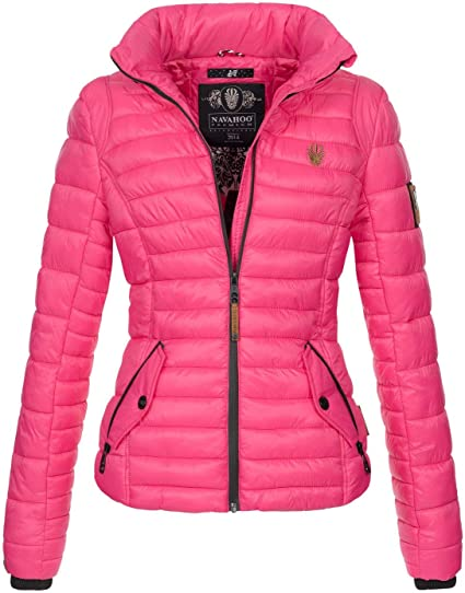 SOVALRO Damen Übergangsjacken Jacke mit Kapuze Parka Mantel Kapuzenmantel Groesse:L, Farbe:Schwarz