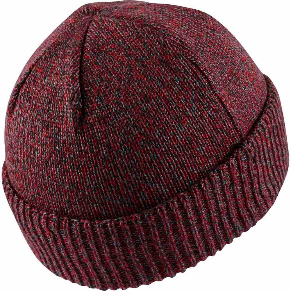 7a9191c6d3e Jordan Beanie - Watch Knit Maroon Size  OSFA (One Size Fits any)   Amazon.co.uk  Clothing
