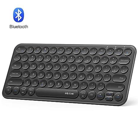ef442e383d2 Bluetooth Keyboard, Jelly Comb Portable Universal Wireless Keyboard for  Laptop, iPad, Mac,
